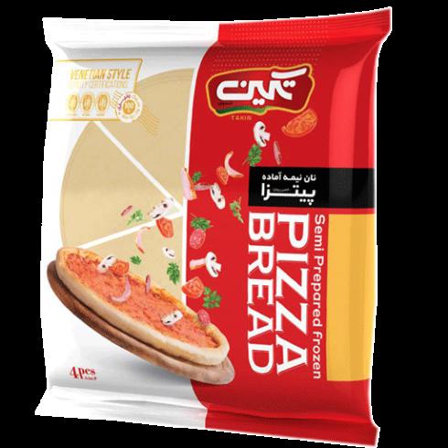 خمیر پیتزا ساده تکین