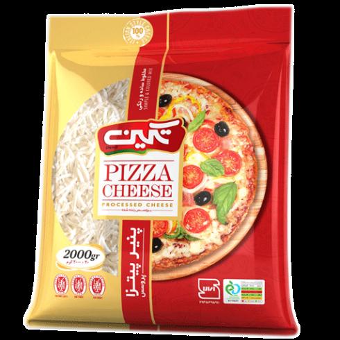 پنیر پیتزا رویال سوپر مارکتی 2 کیلویی تکین