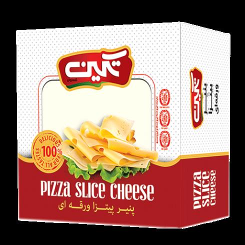 پنیر پیتزا ورقه 400 گرمی تکین