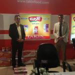 حضور شرکت پونک شیر خاوران در نمایشگاه آی فود مشهد